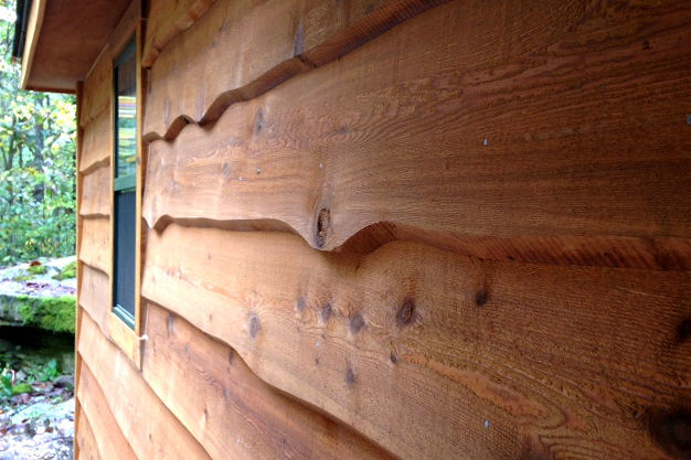 Wood Siding Installation Pattern Overlap And Area Coverage
