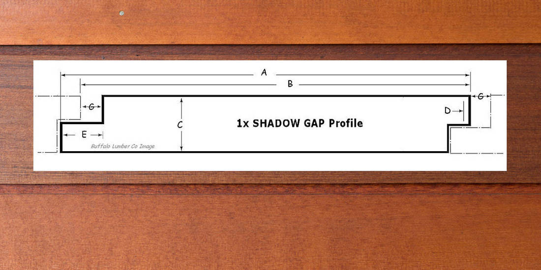SHIPLAP PATTERN SHADOW GAP NICKEL GAP