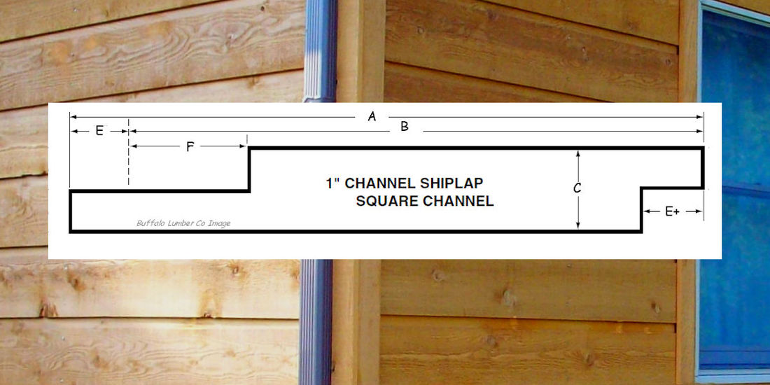 Channel Rustic Siding Channel Lap Pattern Diagram Pictures