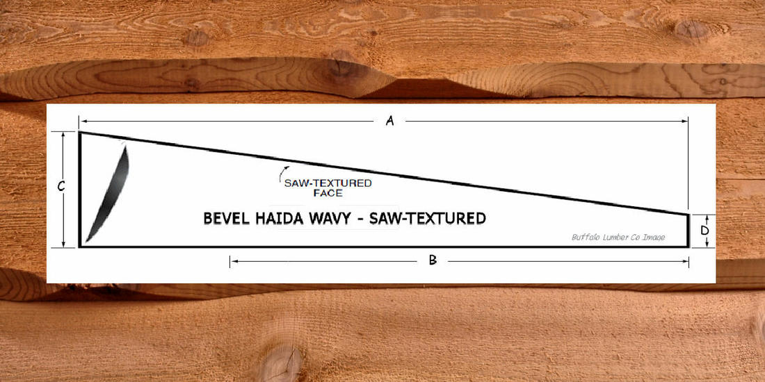WAVY EDGE SIDING HAIDA SKIRL PATTERN DIAGRAM