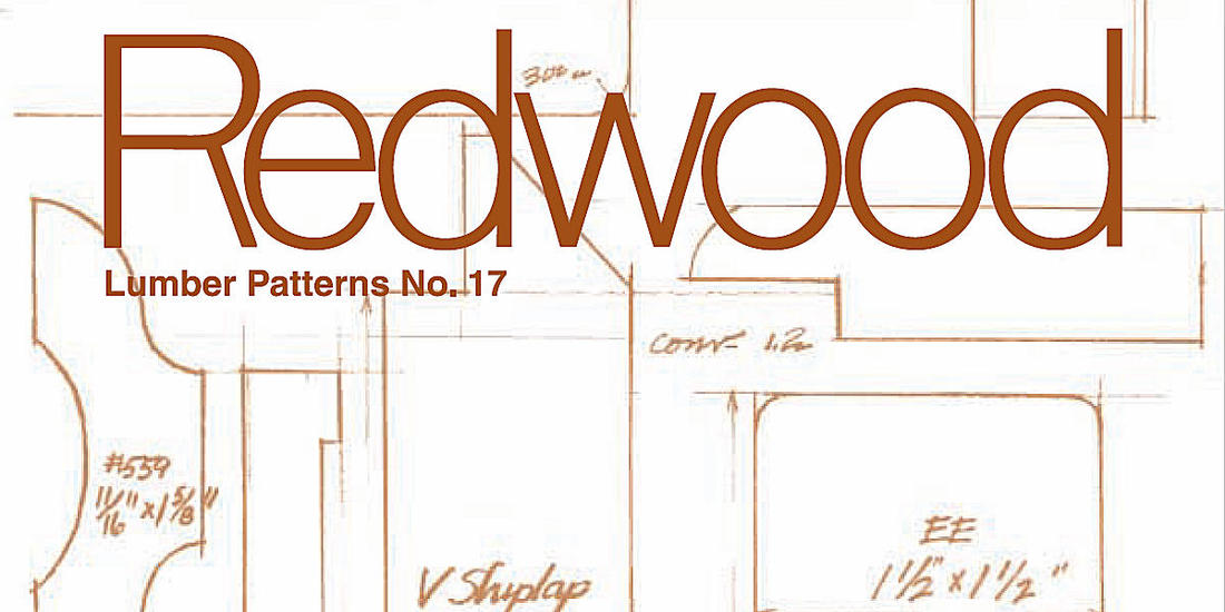 CALIFORNIA REDWOOD ASSOCIATION SIDING & PANELING PATTERN GUIDE