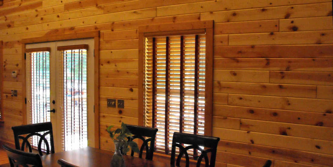 Knotty Pine Paneling 1x6 Tongue Groove Clear Finish Georgia Cabin