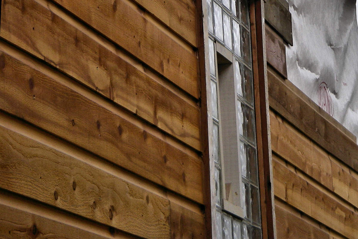 1X8 DUTCH LAP CEDAR SIDING CUSTOMER RAN 10 SQFT FEET SHORT OF FINISHING THE JOB