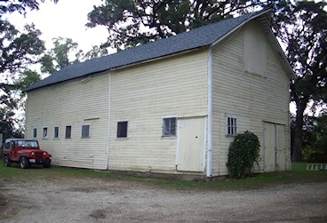 Rustic Indiana Horse Barn before remodel