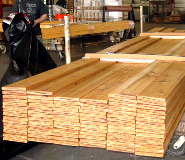 Western Red Cedar Bevel unit - Ready for Delivery
