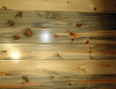 Natural Blue Stained Pine Wood Paneling Buffalo Lumber