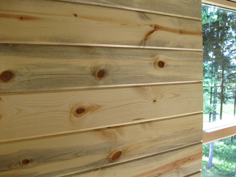 Blue Stain Pine Paneling