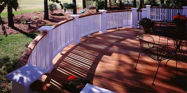 Redwood Deck