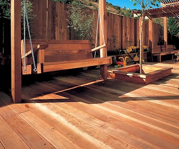 CALREDWOOD redwood deck sapwood boards