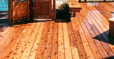 Cedar Decking Buffalo Lumber