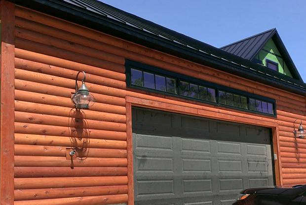 Western Red Cedar Log Siding STK NH Log Siding Home