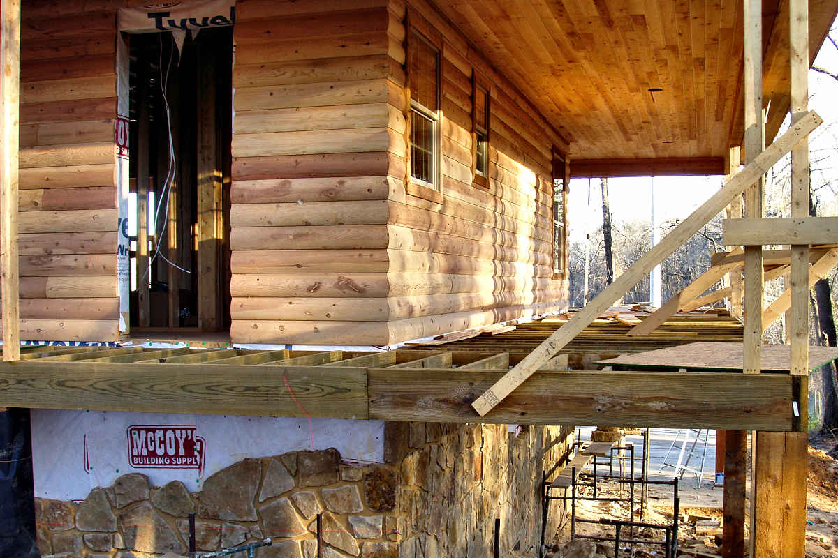2x8 cedar log siding installation texas