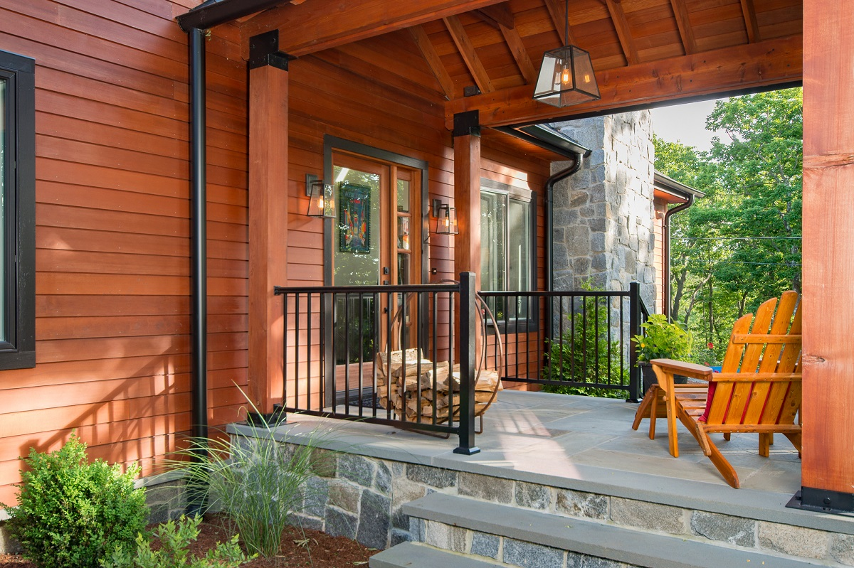 Western Red Cedar Beams and Timber Accents