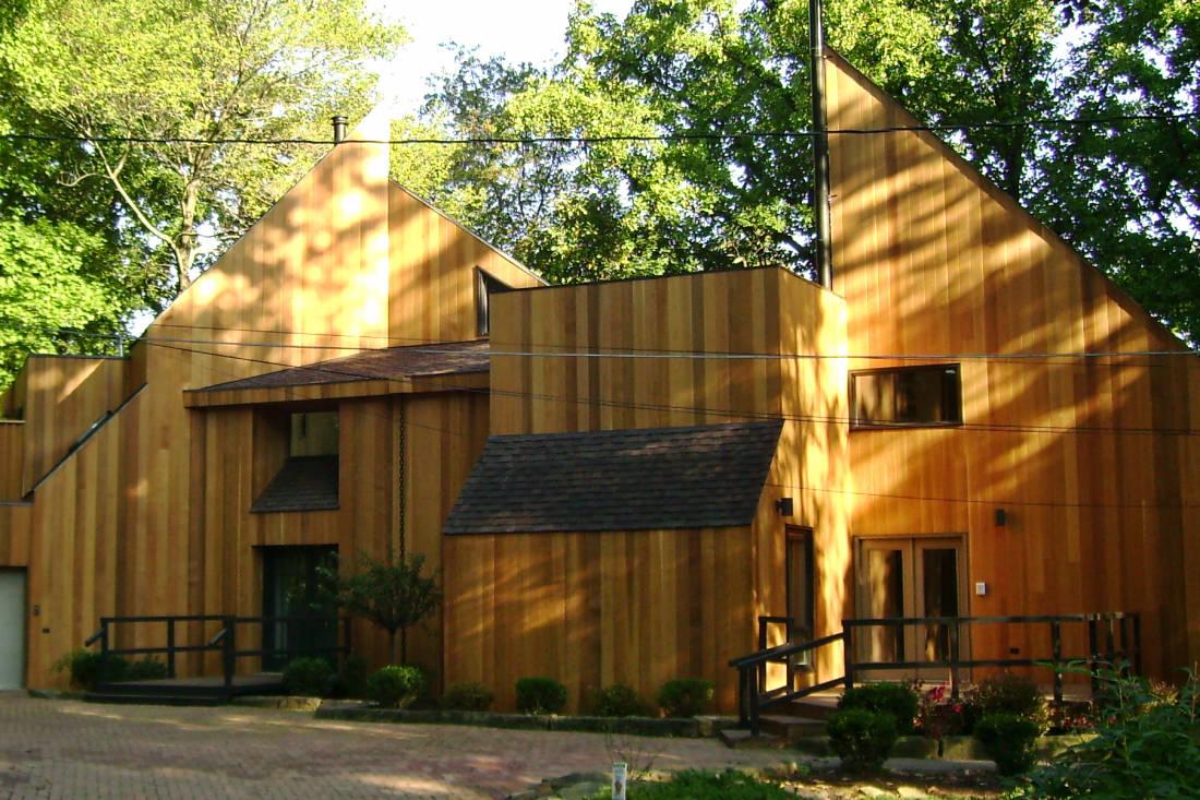 Clear T G Cedar Siding Home Buffalo Lumber