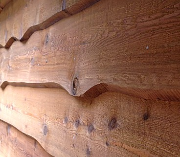 WRC Haida Skirl Red Cedar siding