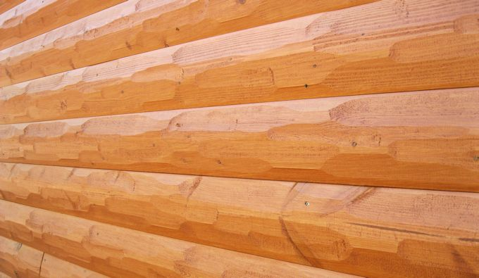 HEWN Log Siding   Surface Finish Part 97