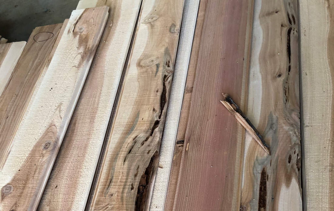 Discount Cedar Siding Worst Case Flaws
