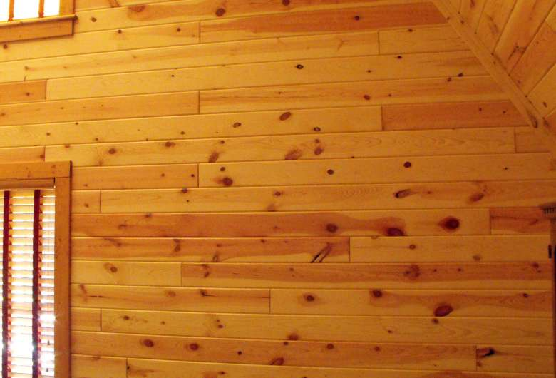 Exceptionnel Interior Pine Wood Paneling Clear