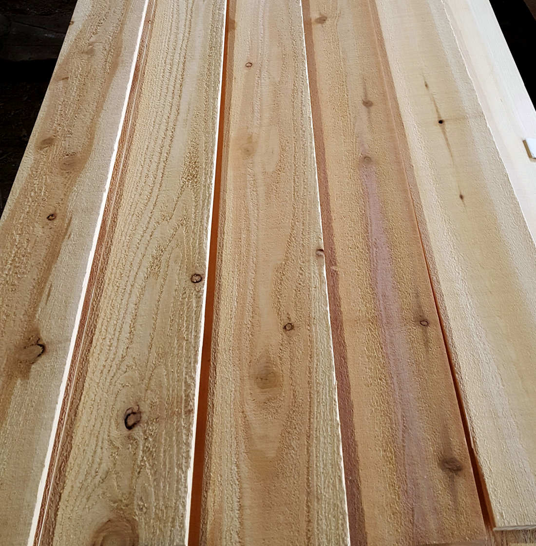 Buffalo Lumber Mill Select Knotty Grade example