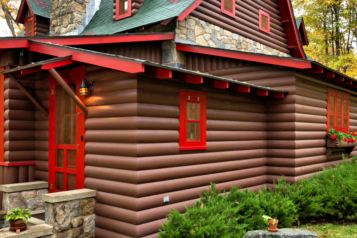 Log Siding * Log Cabin siding * Log Siding Prices & Pictures