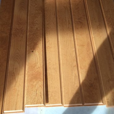 how to clean old wood paneling