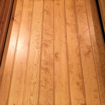 Pine Paneling HAND Stained - NEAR CLEAR Grade