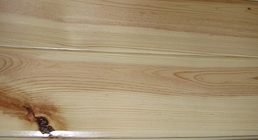 knotty pine paneling clear UV finish