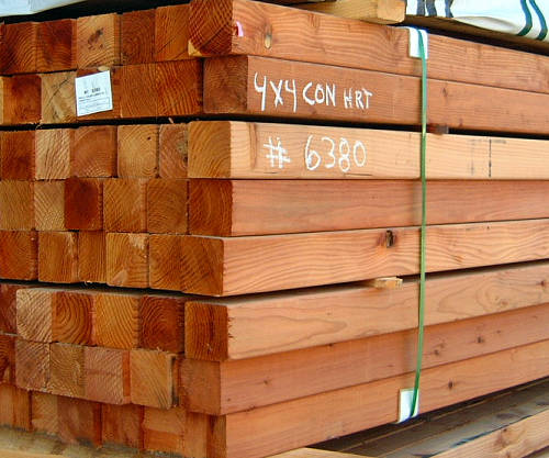 Where To Buy Construction Grade Lumber: Redwood Lumber * Redwood Beams, Timbers 4x 12x