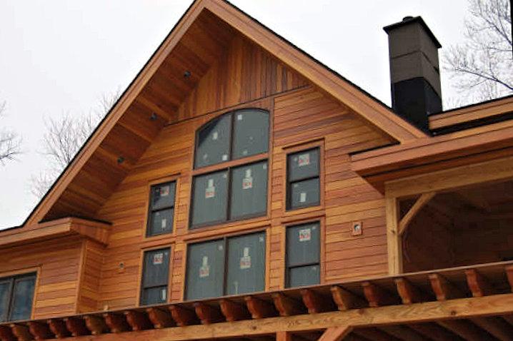 Marvelous Redwood Siding Cost #9: REDWOOD SIDING SAP B NEAR CLEAR GRADE HOME NEW YORK
