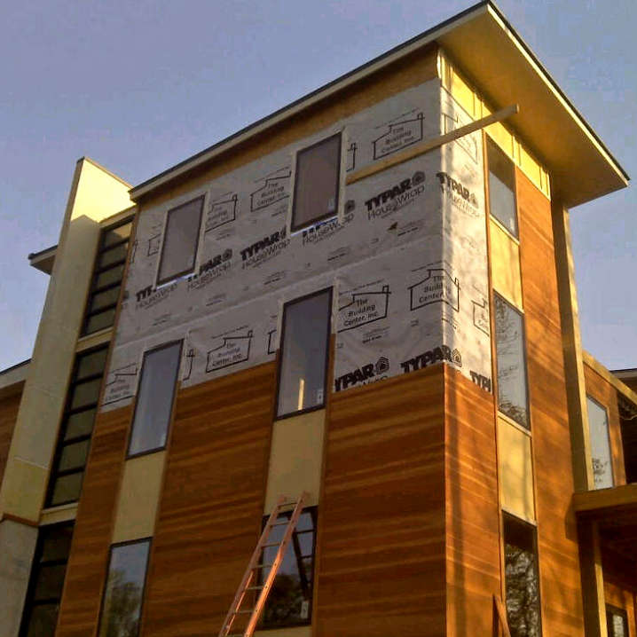 1x6 T&G FLUSH JOINT SAP B REDWOOD SIDING