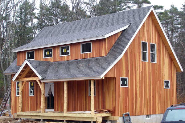 Redwood Siding SAP B Grade - NEAR CLEAR Grade 1x6 Tongue & Groove Siding - Rough Side Use CLEAR Stain