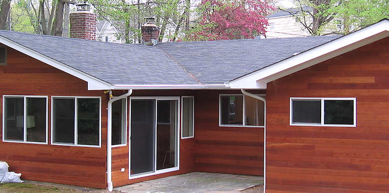 Clear all heart redwood siding buffalo lumber for Redwood siding cost