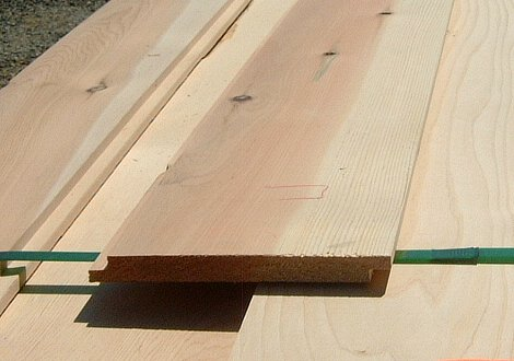 Ship lap siding Incense Cedar bundled unit