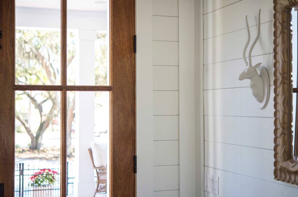 Painted Tongue And Groove Paneling Florida Home Pictures